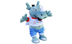 pga 2017 dicke - A rhino takes off