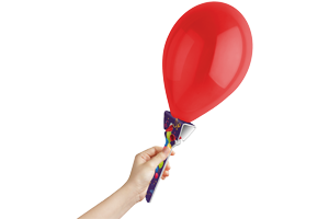 BLoony Balloon Holder 300x200 - Showing stance