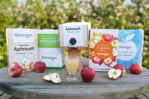 Herzapfelhof Apfelsaftbox individuell 3858d - Promotional Gift Award Winners 2017