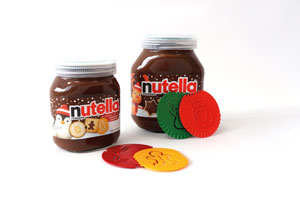 Koziol Nutella koziol Backtools - Quality time in the lid