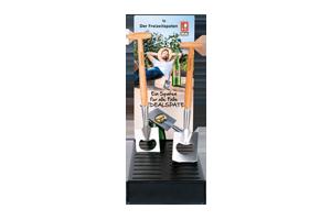 DickePartner 01 Display mit einzelnen Spaten v - Merchandising 2021
